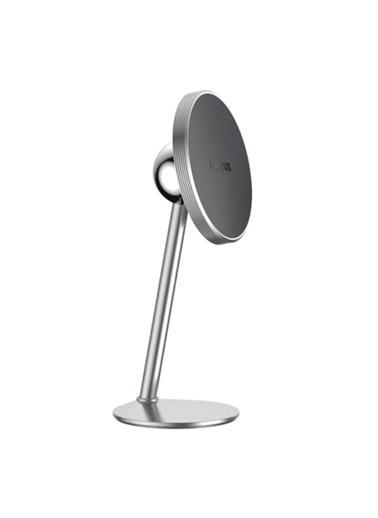 Baseus Little Sun 360 Derece Manyetik Araç Içi Telefon Tutucu Gümüş